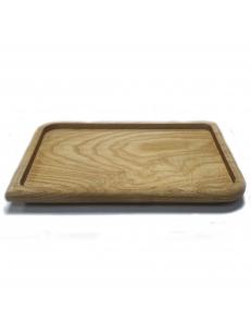 Деревянная тарелка 260х180мм