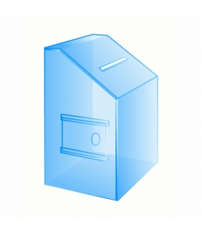 Купить Ящик для пожертвований КД-06 (210шх210гх350в) в Новосибирске